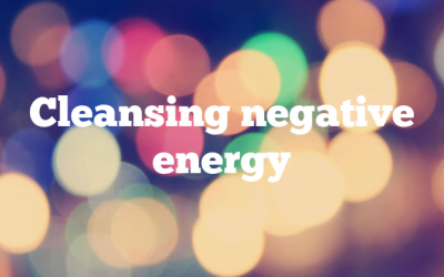 Cleansing negative energy